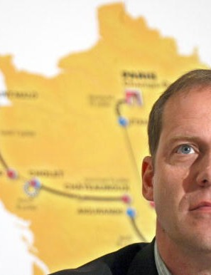 Tour boss Christian Prudhomme on June 3, 2008.