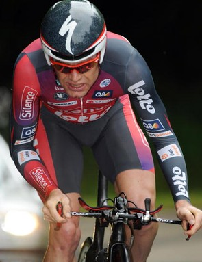Evans got a new time trial bike and has slowly built his speed for the Tour.