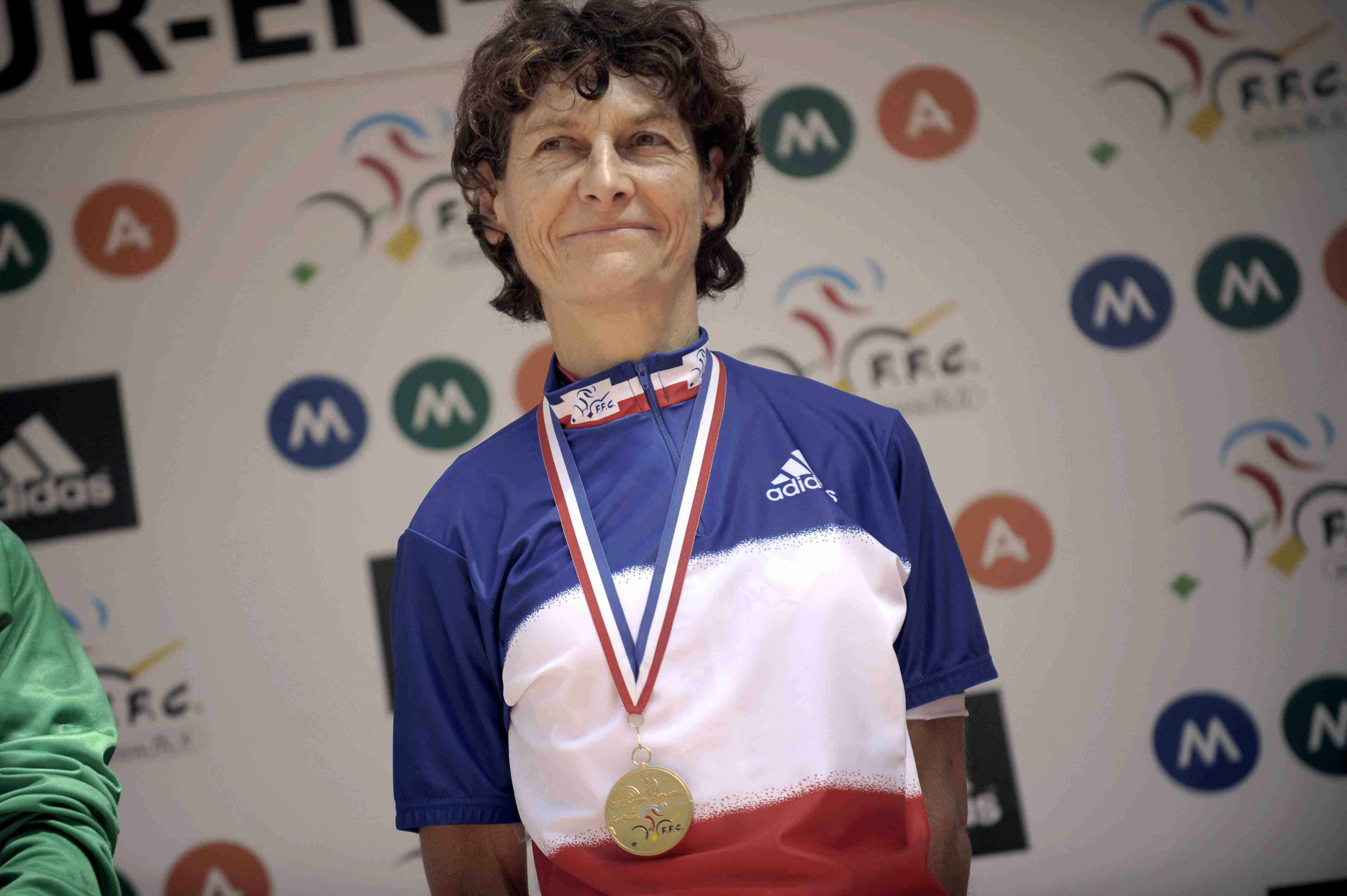 Multiple French national champion Jeannie Longo.