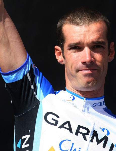 David Millar in his new Garmin-Chipotle outfit