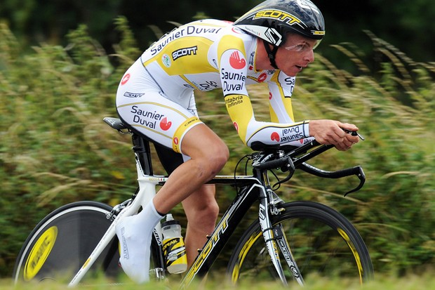Riccardo Ricco tested positive after the stage 4 time trial