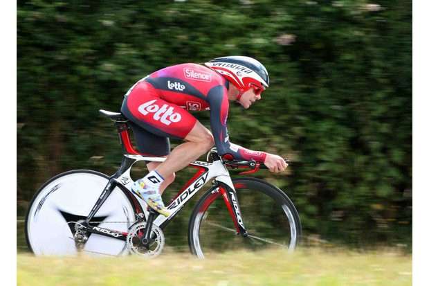 Cadel Evans is a wicked time trialist, and may overtake Carlos Sastre before Paris.