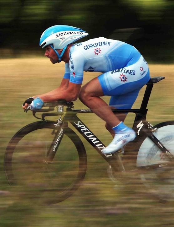 Stefan Schumacher blazed to time trial victory July 8.