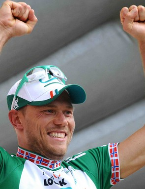 Thor Hushovd won Stage 2 of the 2008 Tour.