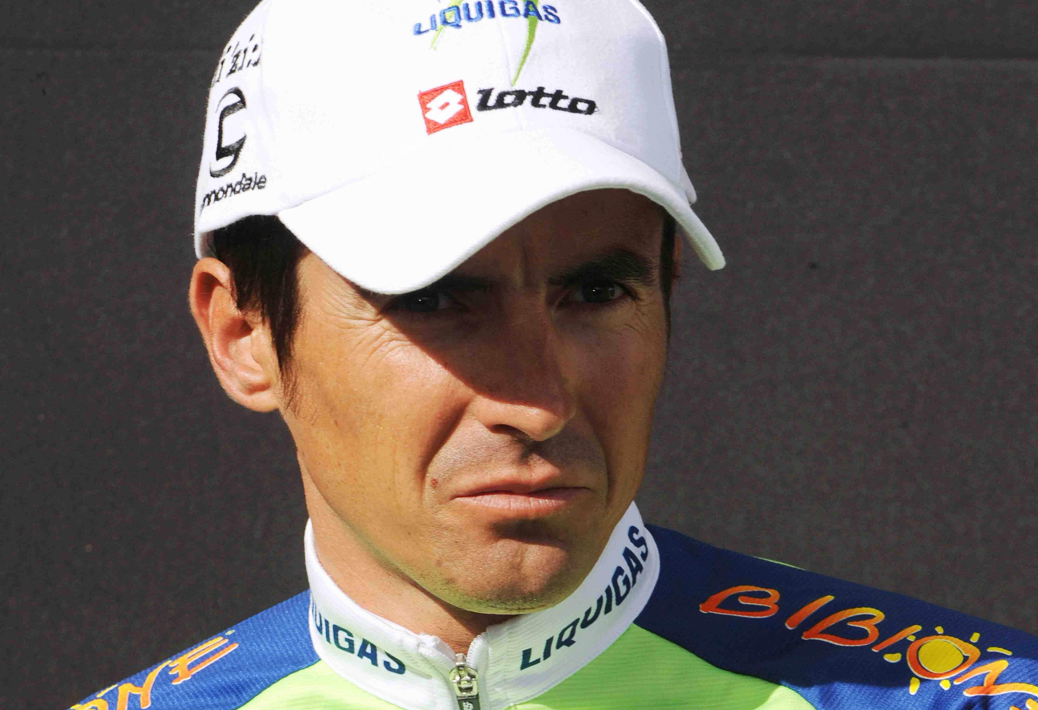Liquigas racer Manuel Beltran on July 10, 2008.
