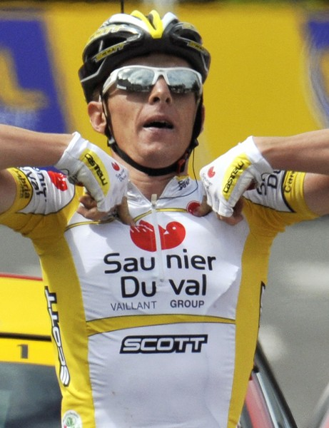 Riccardo Ricco is out of the Tour after failing a test for EPO