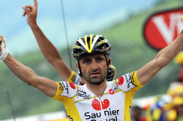 Leonardo Piepoli won stage 10 of the Tour, but was subsequently sacked by Saunier Duval