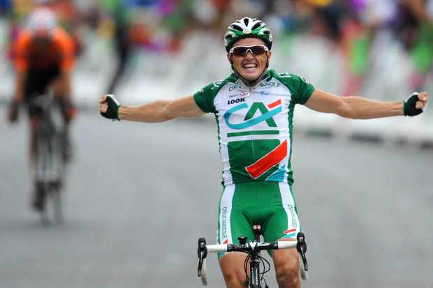 Simon Gerrans won Stage 15 of the 2008 Tour de France.