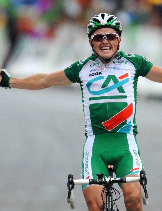 Simon Gerrans won Stage 15 of the 2008 Tour de France.