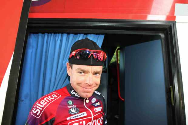 What goes on in that mind of Cadel Evans?