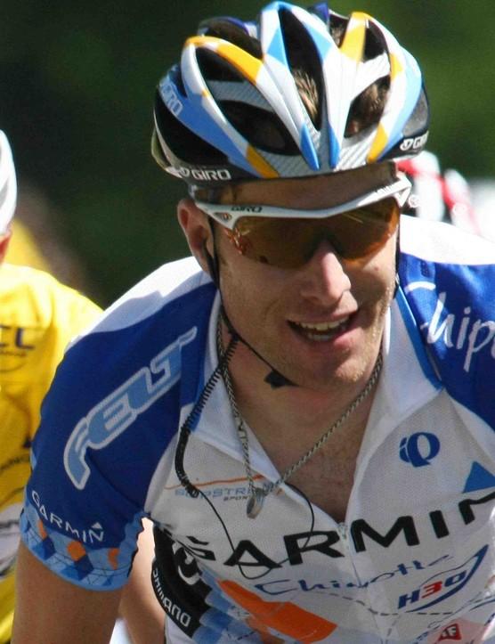American rider Christian Vande Velde in the 2008 Tour de France.
