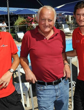The Family Schleck: Andy, Johnny and Frank.