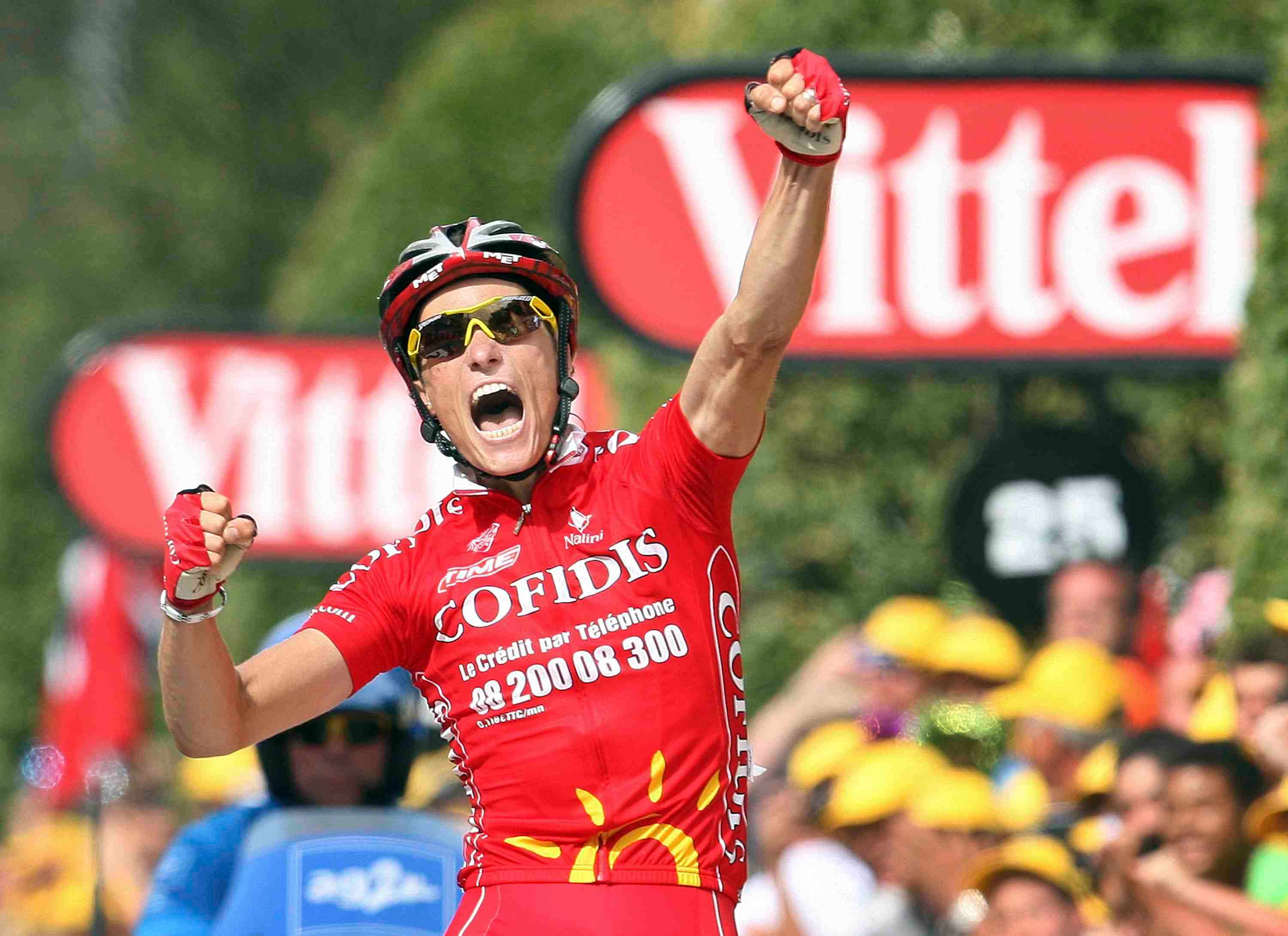 An exuberant Sylvain Chavanel dedicated his win to a lost friend.