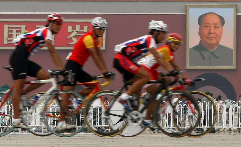 The Beijing Olympics begin August 8.