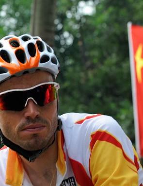 Olympic men's road gold medalist Samuel Sanchez.
