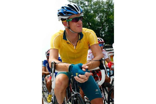 Australia's Michael Rogers before the men's road race.