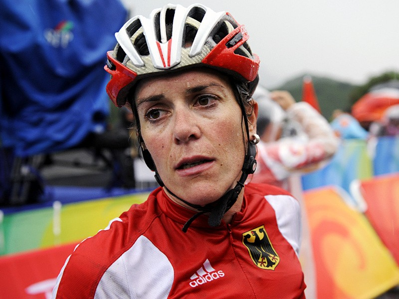 Germany's Hanka Kupfernagel was one of many to miss out on a medal