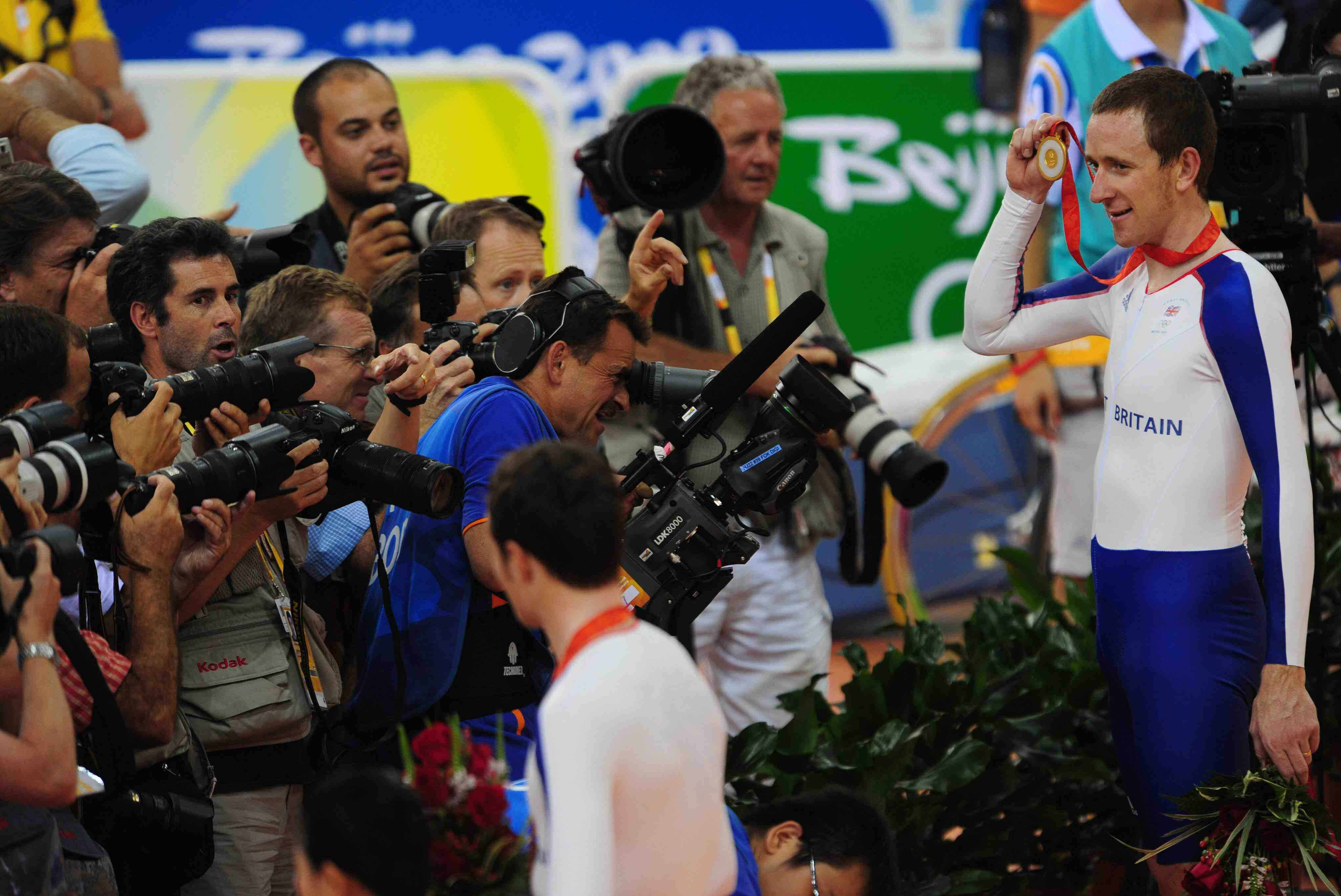 Bradley Wiggins scooped gold in Beijing.