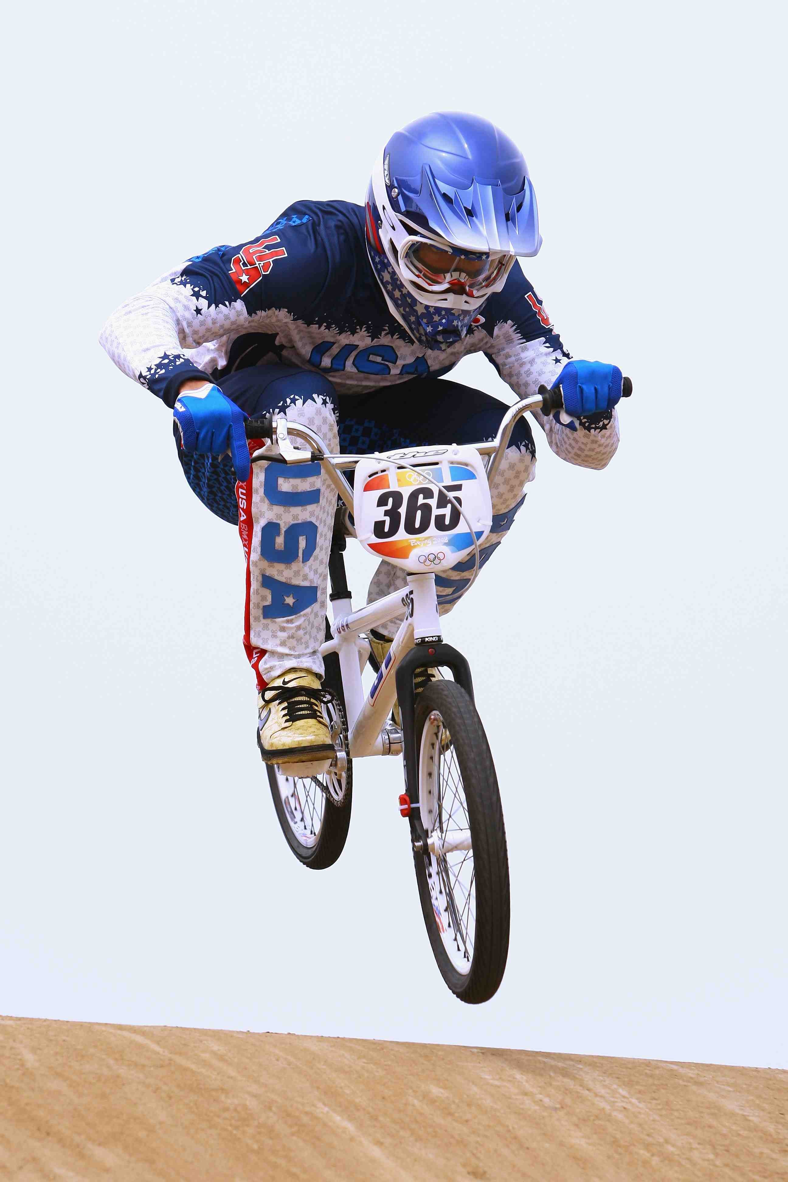 American BMX and gold medal favourite Mike Day.