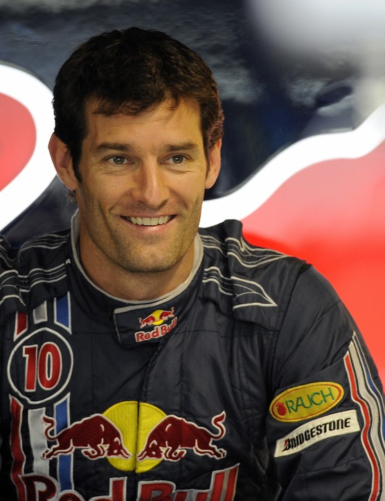 Mark Webber in more familiar motosport guise