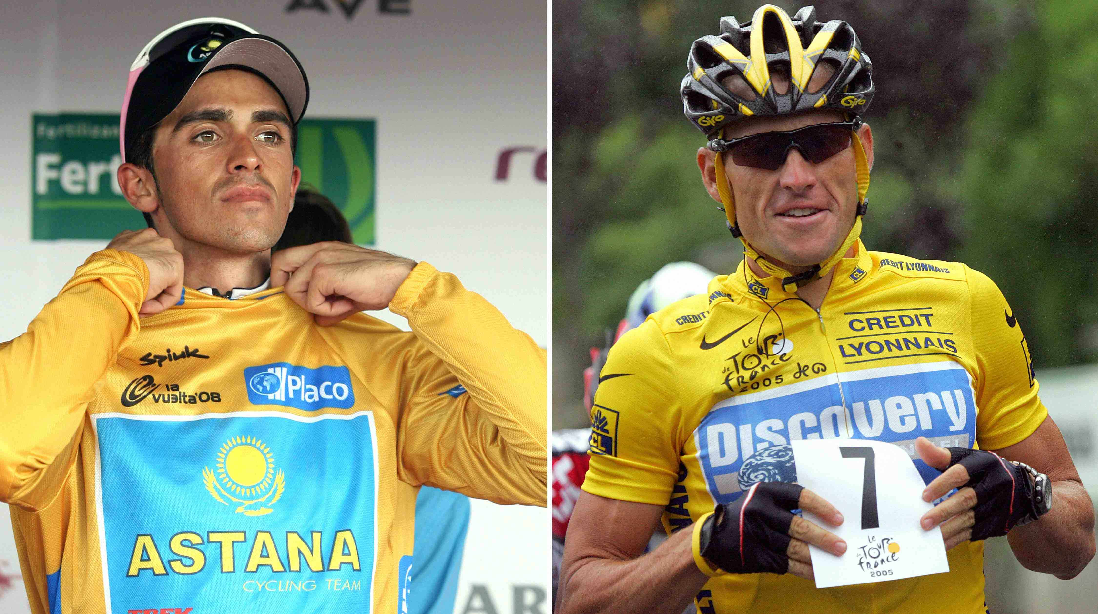 There may not be room for Alberto Contador and Lance Armstrong on the same team in 2009.