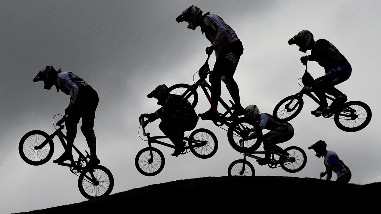 The BMX events take place at the Olympic BMX Centre