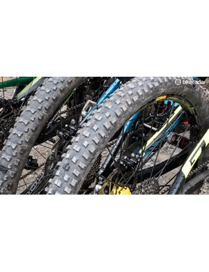 Unsurprisingly, Schwalbe remained tight-lipped about the new rubber. What we can tell you is that they're made from the brand's Addix compound and look like a great all-round tread