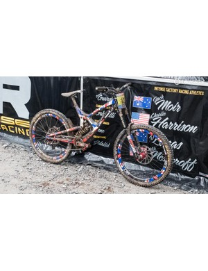 This M16 is looking a little less resplendent after a muddy timed training