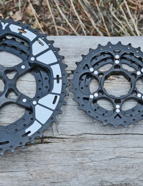 The Two cassette is 11-speed, fits on Shimano freehubs and has an 11-46 range