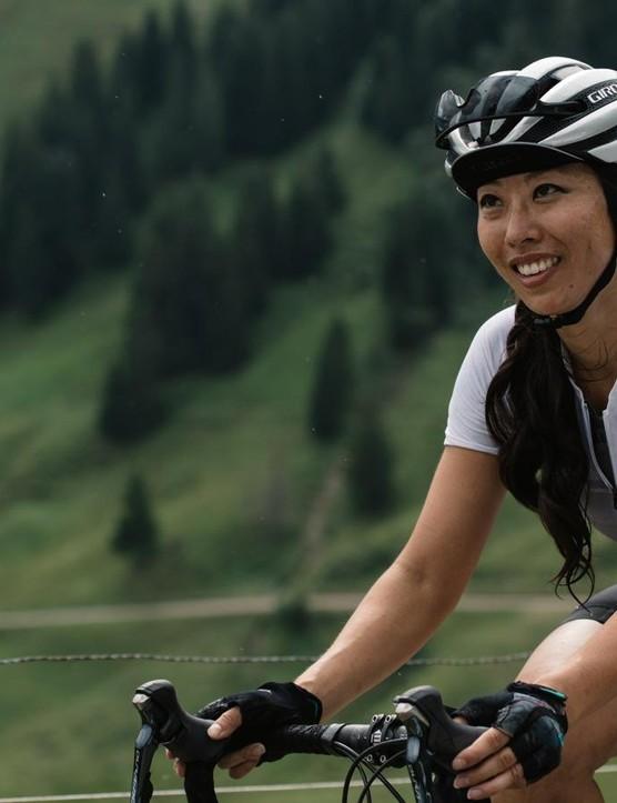 One of the Giro Chrono Pro women's jerseys
