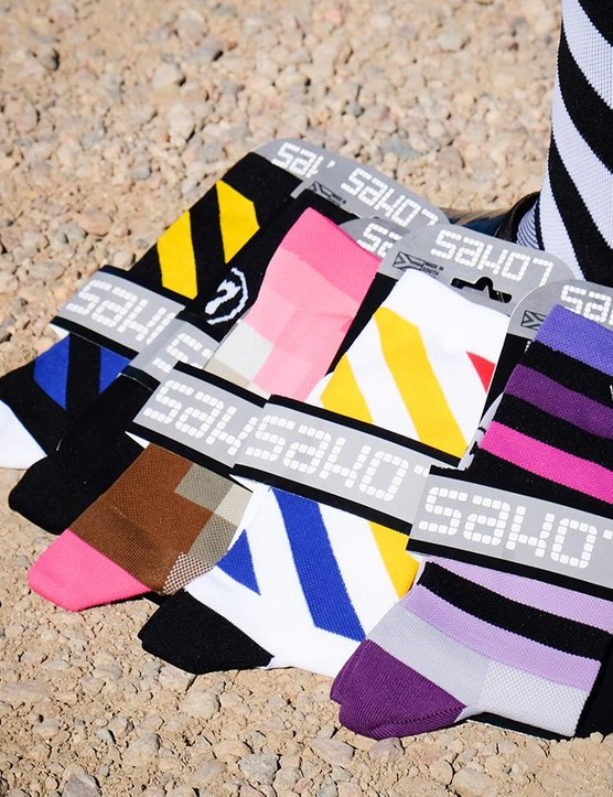 And, of course, SakO7 has a fresh batch of sock styles