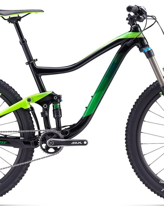 The Trance is highlighted by an ALLUX SL alloy frame, 140/150mm Fox shocks, and 27. 5
