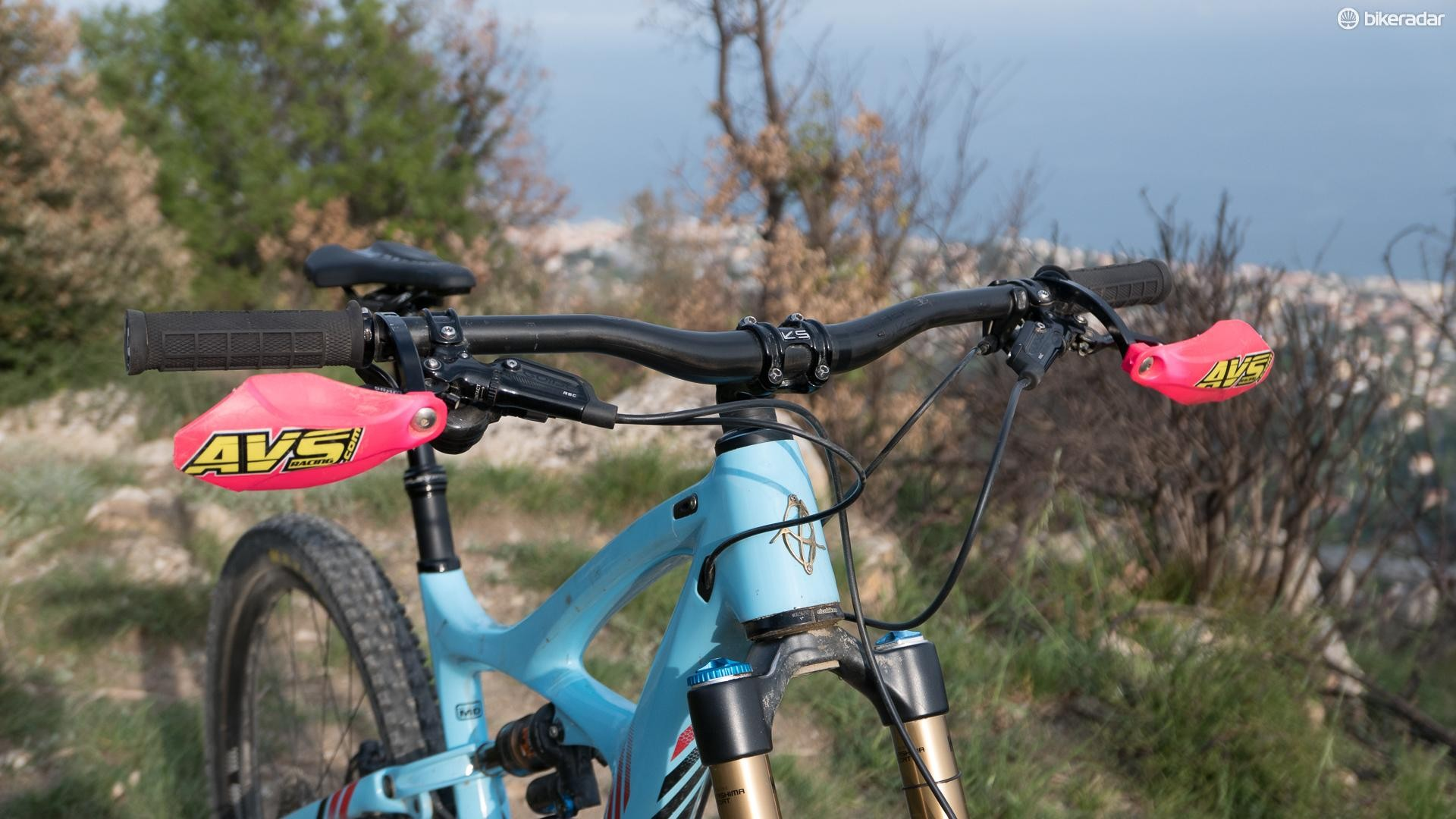 AVS hand guards are a popular add-on in this part of the world