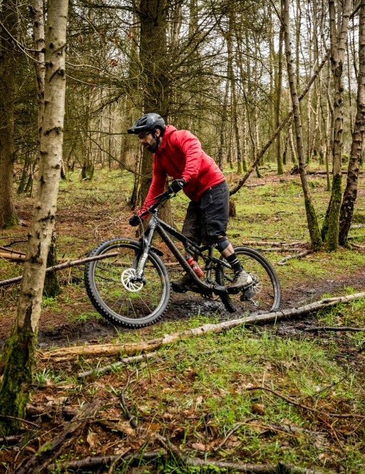 Riding well-known trails was a great way to get to grips with the changes made to the new Pike fork