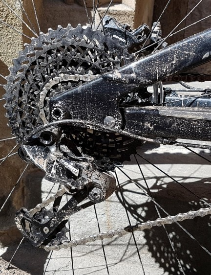 SRAM's EX1 groupset is designed with additional power in mind, and fewer sprockets