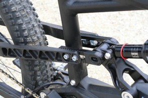 At the back, the seat and chainstays are adjustable in length, to suit rider preference and wheel size