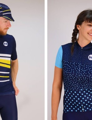 Matchy Cycling creates utterly beautiful cycling kit with recycled polyester