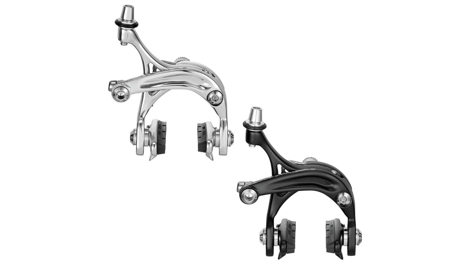 Choose between black or silver dual-pivot brake sets...