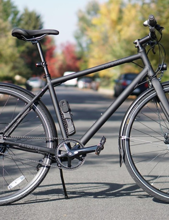The Priority Continuum Onyx is a cherry city bike, for a few reasons