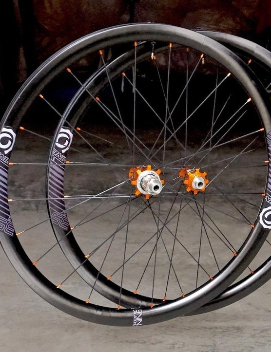 Industry Nine expands its road offering with a new lineup of 35, 45, and 55mm deep, aero carbon disc wheels