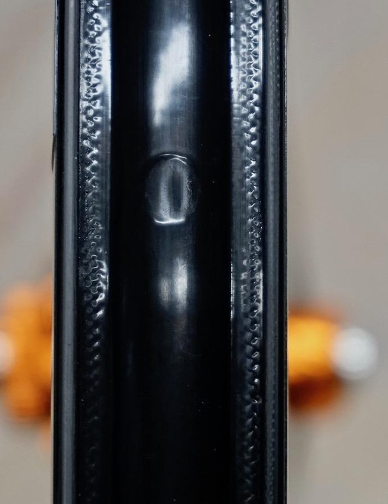 The 9.35 Disc tubeless rim strip appears to be a shrink-wrap style nylon barrier