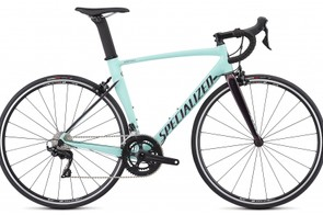 The rim brake Allez Sprint Comp is a handsome thing too, and it also comes specced with 105