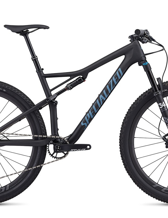 Specialized Epic EVO Expert Carbon in Satin Carbon/Storm Grey