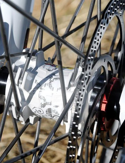 Mavic Crossmax SX wheels with 20mm through-axle