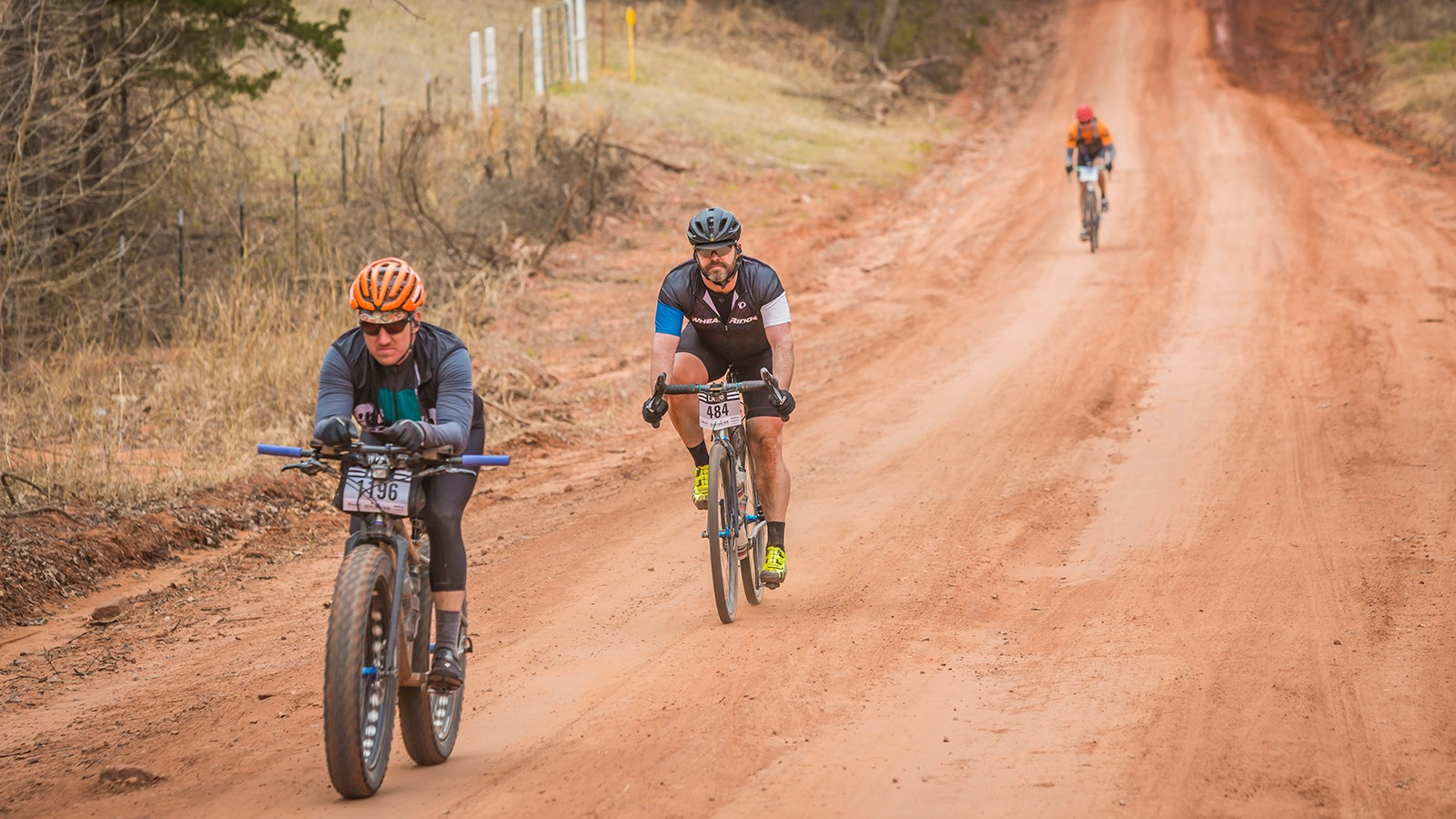 Run what ya brung: one of the best parts of gravel races is the wide variety of bikes on course