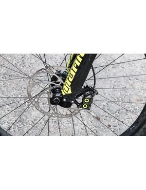 The team use Magura MT8 brakes