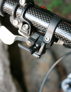 A handy dandy remote lock switch for the RockShox Reba front fork.