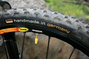 Handmade Continental tyres.
