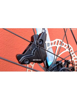 Campagnolo marks all Campy Tech Lab products this way to prevent them reaching the marketplace