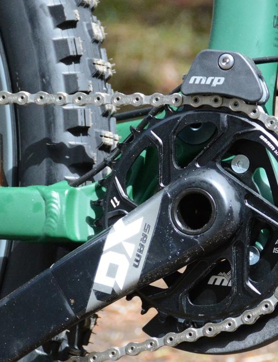 SRAM's X01 carbon cranks spin on a press fit BB92